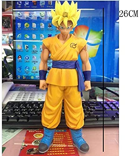 tiempo libre Gflyme Estatua Estatua de Juguete Dragon Ball Ball Ball Juguete Saiyan Modelo de Juguete Exquisito Anime Decoración Decoración Sun Wukong 26CM (Color   B)  El nuevo outlet de marcas online.