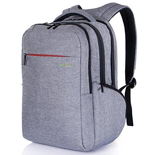 Lifewit Zaino Borsa di 15.6 Pollici Leggera Multiusi da Viaggio Porta PC/ Macbook Pro/ Ultralbook/ Chromebook Griggio