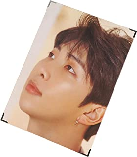 Cianowegy Kpop BTS Love Yourself Speak Yourself Official Premium Poster Photocard Photo Frame Poster Large Photo Card Postcard, Fans Collection Version, 14.4×9.3 Inch (Speak Yourself: RM)