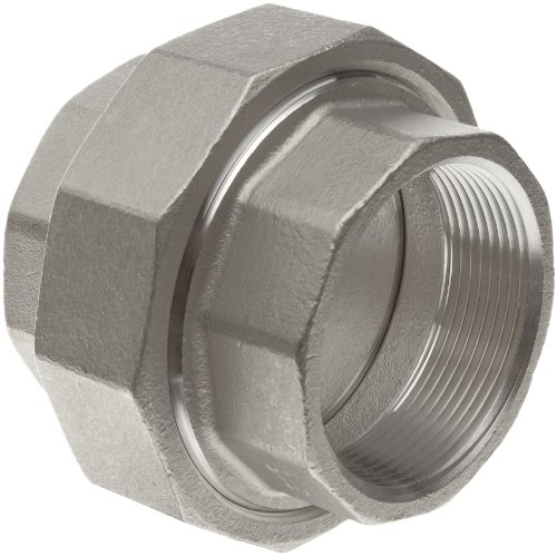 Stainless Steel 316 Cast Pipe Fitting, Union, MSS SP-114, 2-1/2