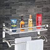Plantex 2-tier rack/shelf is highly durable as high-grade stainless steel is used for its manufacturing. Additional nickel-chrome finishing makes it scratch resistance, rust-proof and of best quality. This 2-tier shelf/rack can be used for storing to...