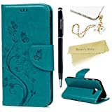 Galaxy A5 Case 2017 Mavis's Diary PU Leather Wallet Flip