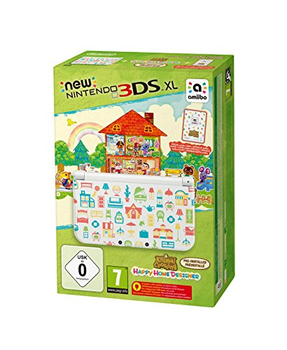 New Nintendo 3DS XL - Konsole (Special Edition) + Animal Crossing: Happy Home Designer (vorinstalliert)