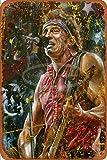Generic Brands Bruce Springsteen Zinn Wandschild Plakette