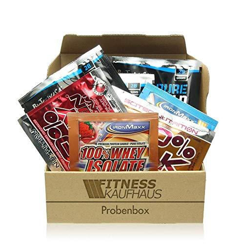 Protein Supplement Sample Box - 20 Proben diverser Hersteller.
