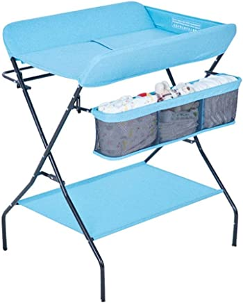 YXNN Baby Changing Table With With Storage Bag  Folding Diaper Station For Toddler Health Baby Care  Bathing Station For Newborn