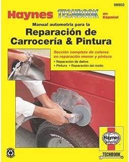 Haynes Reparación de Carroceria and Pintura Spanish Repair Manual (98903)
