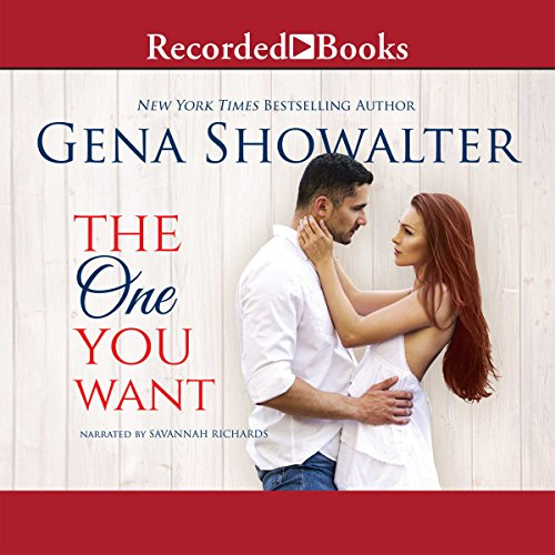 The One You Want audiobook cover art