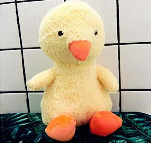 Knuffels pinguïn eendje uil babyolifant roze varken pop met kussen cadeau 35 cm eendje