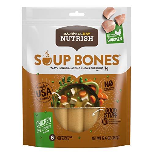 Rachael Ray Nutrish Soup Bones Dog Treats Chicken amp Veggies Flavor 6 Count