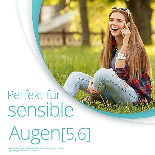 Dailies AquaComfort Plus Tageslinsen weich, 90 Stück / BC 8.7 mm / DIA 14.0 / -2,75 Dioptrien - 5