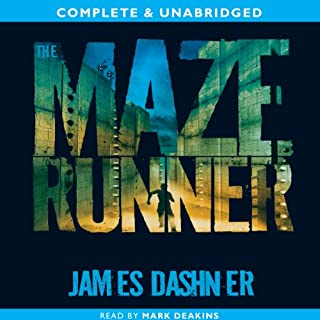 The Maze Runner     The Maze Runner, Book 1              By:                                                                                                                                 James Dashner                               Narrated by:                                                                                                                                 Mark Deakins                      Length: 10 hrs and 50 mins     1,080 ratings     Overall 4.3