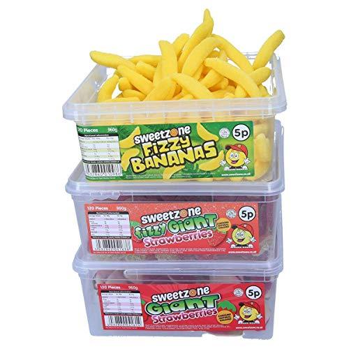 Halal Süssigkeiten Box 2 SweetZone 100{cd3dd9c88116fe4140cfbc9afdaf33b7562cf573e7be533cd6abeb359b02618d} Halal Candy ohne Schweinegelatine 3 x 1kg Sortiment