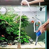 WiseGoods - Limpiador de suelo y filtro de acuario prémium – Limpiador de suelo para la limpieza de acuarios.