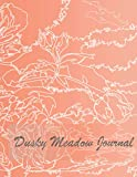 dusky meadow journal: huhuero notbook journal,classic ruled hard cover.patricia nash journal