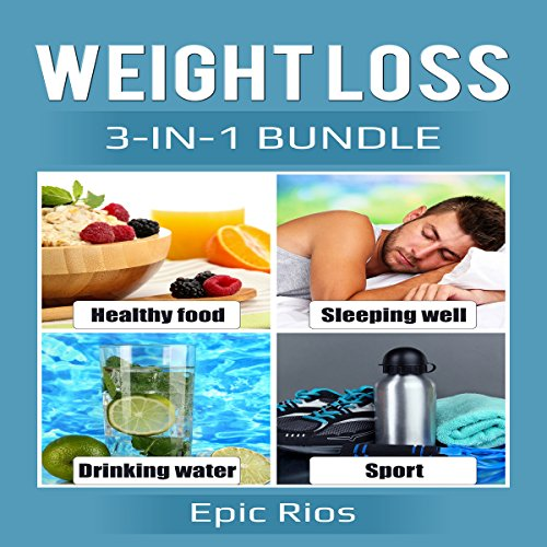 Weight Loss: 3 Book Bundle - Intermittent Fasting + Strength Training + BodyBuilding audiobook cover art
