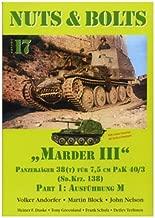 Nuts & Bolts - Vol 17 - Marder III - Panzerjager 38 (T) Fur 7.5 Cm Pak 40/3 ( Sd.kfz. 138 ) - Part 1 - Ausfuhrung M