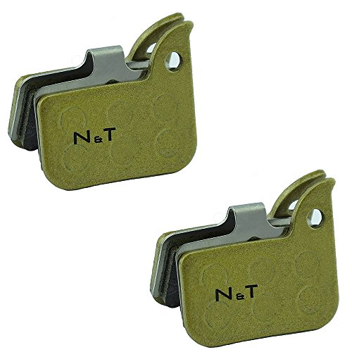 Noah And Theo 2 pastillas de freno de disco sinterizado NT-BP016/SI para...