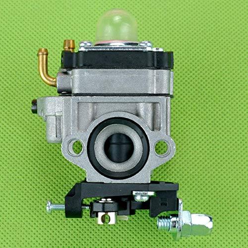 Accesorios de repuesto para carburador Huq Carburador para 1E34 cortador de cepillo de césped cortasetos motor de corte de setos 26 cc partes