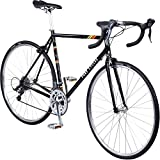 Pure Cycles Classic 16-Speed Road Bike, Veleta Black, 56cm/Large