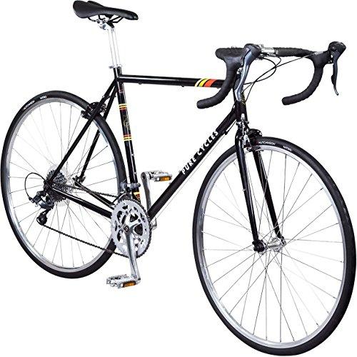 Pure Cycles Classic 16-Speed Road Bike, Veleta...