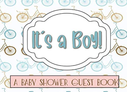 It's a Boy!: A Baby Shower Guest Book for Baby Boys