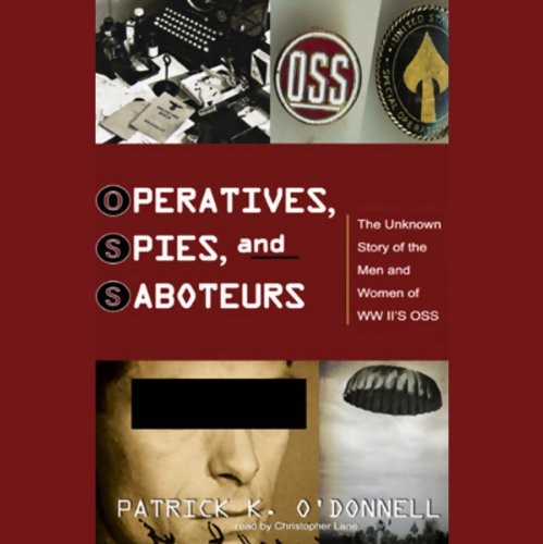 Operatives, Spies, and Saboteurs audiobook cover art