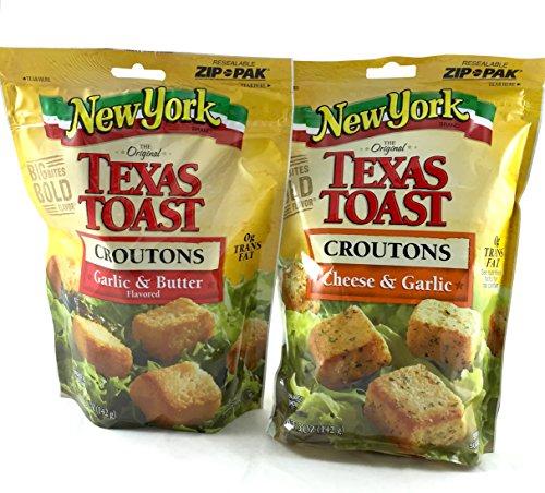 Texas Toast Croutons: Cheese & Garlic, Garlic & Butter