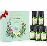 Refresh Essential Oils Set for Diffuser (Peppermint, Tea Tree, Sage,...