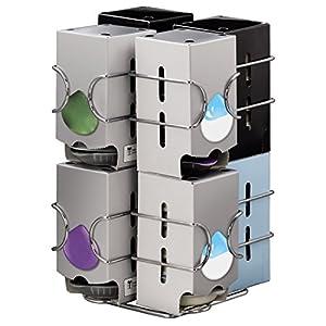 Xavax 00111156 - Porta Capsule Compatto, Max 64 Capsule o 8 Pacchi