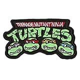 Teenage Mutant Ninja Turtles Embroidered Iron on Patch (3.5' / 9cm) TMNT Badge / Applique!