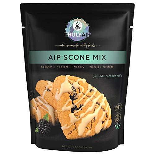 Truly AIP Scone Mix – Shortcake, Biscuits - Gluten Free, Vegan, Kosher - Autoimmune Protocol, Paleo, Whole 30 Friendly – 9.5 oz. package