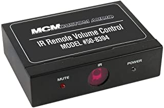 MCM CUSTOM AUDIO 50-8394 LINE LEVEL VOLUME CONTROL IR REMOTE