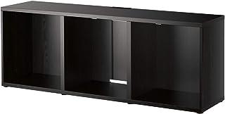 Banco de TV BESTÅ IKEA 180x40x64 cm negro-marrón