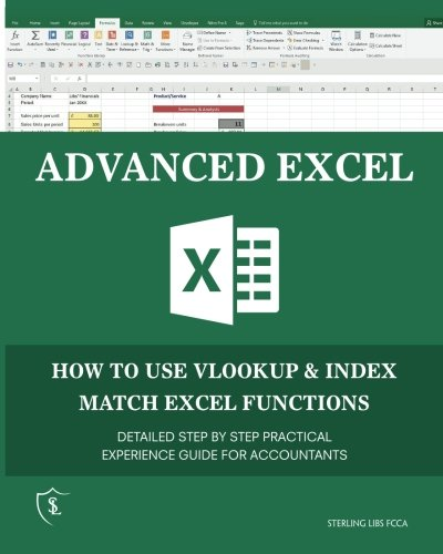 Advanced Excel: How to use VLOOKUP & INDEX MATCH Functions