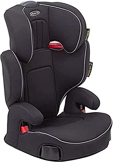 Graco Assure High back Booster Car Seat, Group 2/3 (4 to 12 Years Approx, 15-36 kg),Black: image