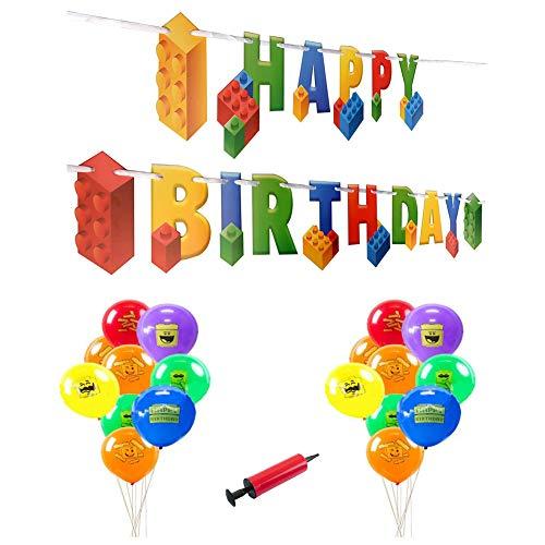 INTVN Building Block Birthday Pa...