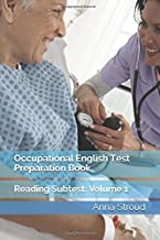 Occupational English Test Preparation Book: Reading Subtest