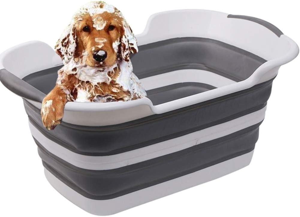 Bañera Plegable para Perros Y Gatos Baño Portátil Plegable, Piscina De Plástico para Perros Piscina para Perros, Piscina para Mascotas Bañera para Gatos Bañera para Gatos