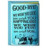 Hallmark Funny Coworker Goodbye Card from All of Us (We Wish You)