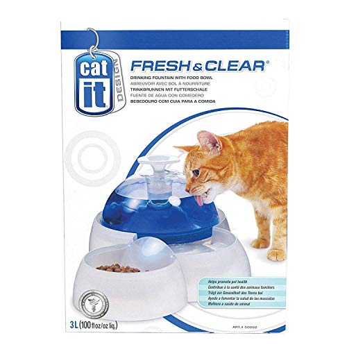 of catit cat foods dec 2021 theres one clear winner Catit Fresh & Clear Drinking Fountain for Cats and Puppies