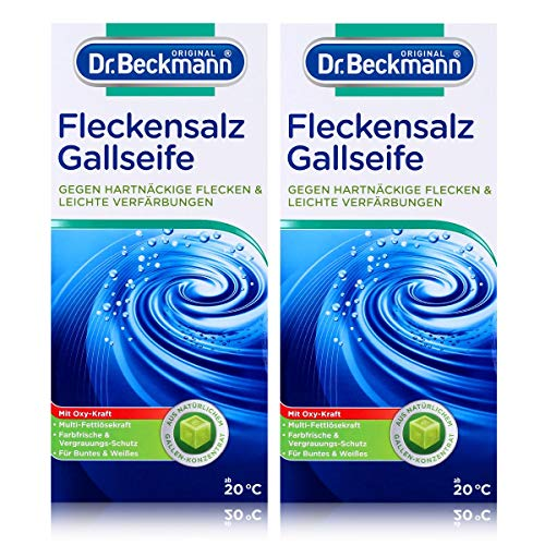 Dr. Beckmann Zout- en vlekkenzout, pak van 2 (2 x 500 g)