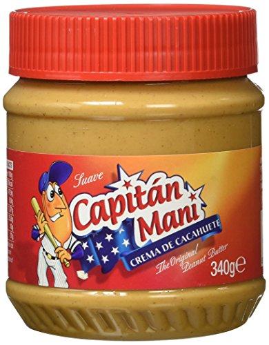 Capitán Maní Suave Crema de Cacahuete - 340 g