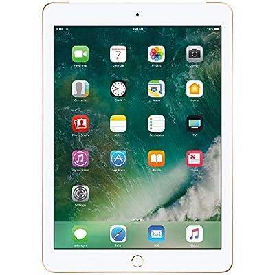 Apple iPad with WiFi, 32GB, Silver (2017 Model) (Certified Refurbished)