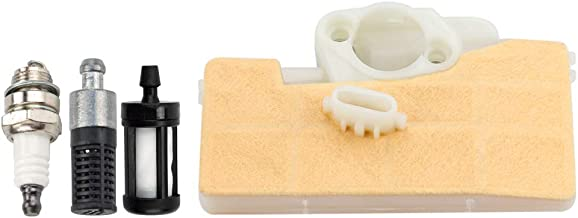 Dxent MS290 Tune-Up Kit Air Filter for STIHL 029 039 MS310 MS390 Chainsaw w Fuel/Oil Filter Spark Plug 1127-120-1621