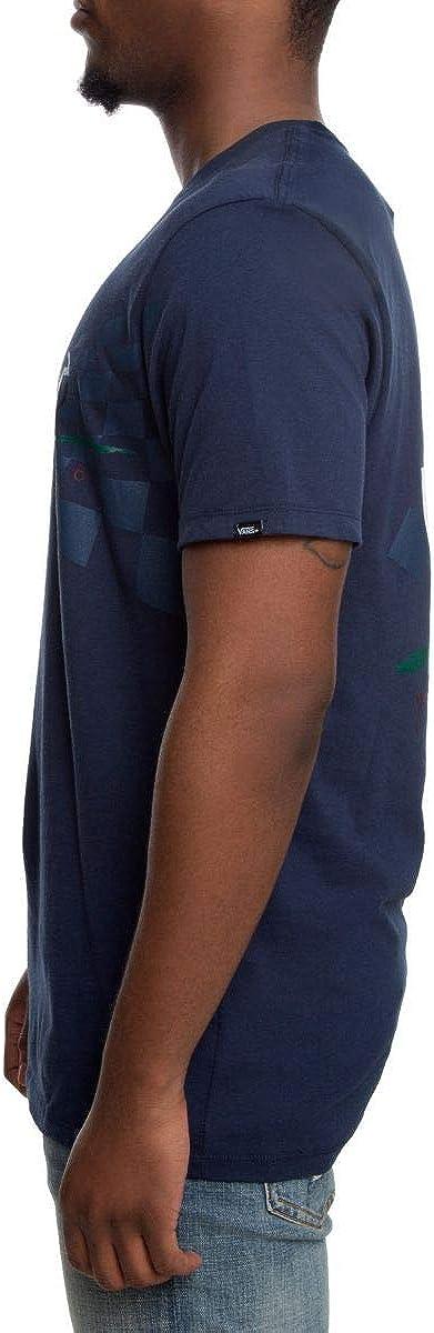 Vans MN OTW Title Holder TEE in Dress Blue Shirts S
