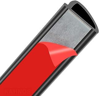 Car Door Seal Auto Seal Slope D Car Door Rubber Strip Edge Trim Rubber Seal For Cars Scratchproof Door Seals Car Accessories