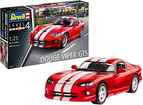 Revell 0704012Maqueta de Dodge Viper GTS en Escala 1: 25, Niveles 4