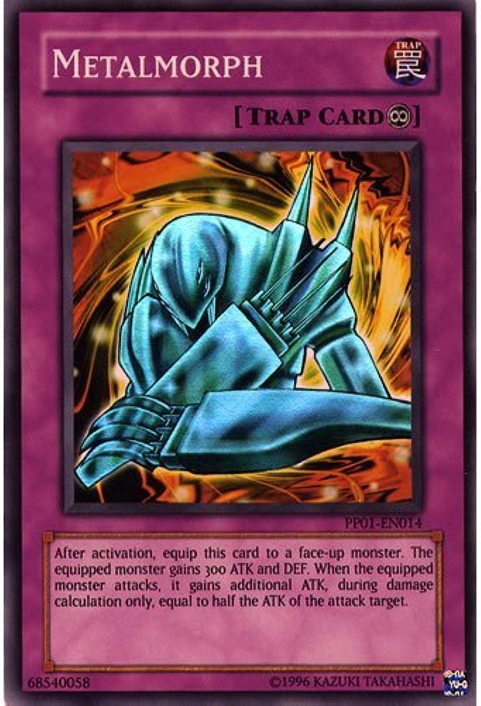 YuGiOh   PP01EN014 Metalmorph Super Rare Card  ( Premium Pack 1 YuGiOh Single Card ) by Deckboosters