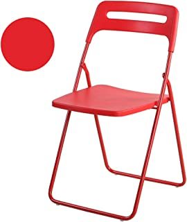 Amazon.es: silla plegable de metal roja